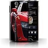 Coque de Stuff4 / Coque pour Sony Xperia Ray/ST18i / Rétroviseurs Design / Voiture Audi Collection