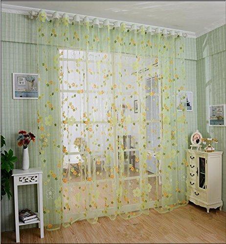 Tende trasparenti tende camera da letto Soggiorno Balcone anti-UV poliestere moderna , 1