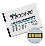 PolarCell Batterie pour BlackBerry Bold 9900/9790, Torch 9850/9860, Curve 9380 avec mini-chiffon en microfibre