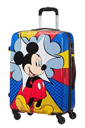 disney Legends Spinner 65/24 Alfatwist Koffer, 65 cm, 62.5 L, Mickey Flash Pop