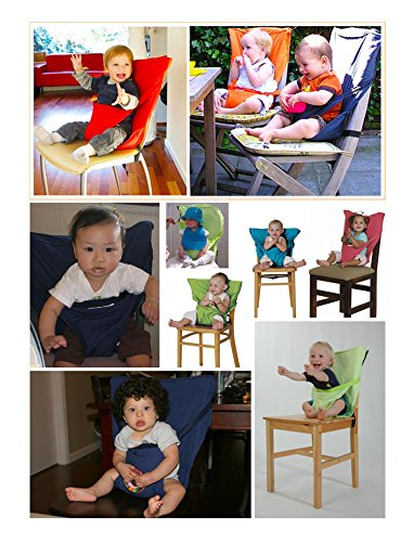 Vine Baby Portable Highchair Travel Seats Cover Toddler Safety High Chair Infant Sack Belt 51Fl1CIvVfL
