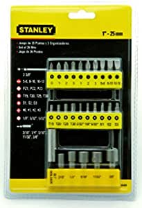 Stanley 6807123 Insert Bit Screwdriver Set (29-Pieces)