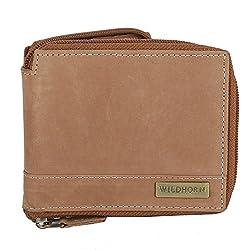 WildHorn Tan Mens Wallet (WH1217)