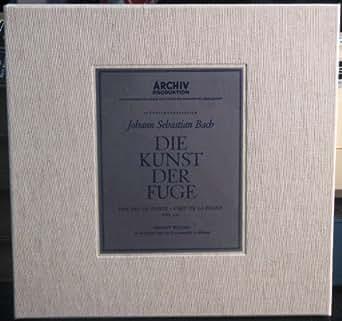 Johann Sebastian Bach Die Kunst der Fuge Archiv Produktion Vinyl LP Box
