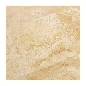Dalles Carrelage en pierre Travertin beige - Prix au carton de 0.2088 m²