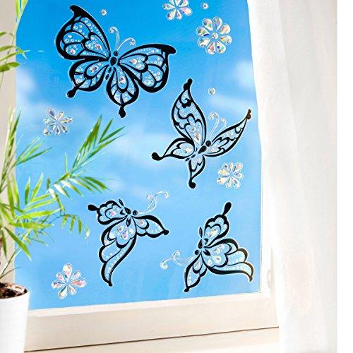 """Preisvergleich Produktbild Fenstersticker """"Schmetterling"""""""
