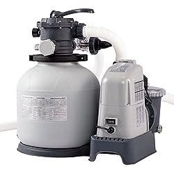 Intex Krystal Clear Sandfilteranlage & Salzwassersystem ECO 6.000l/h 28676