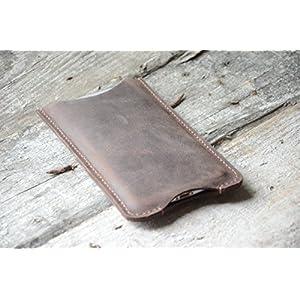 Echtes Leder-Mappen-Kasten für Leder Geldbörse oneplus 3 Wallet handgemachte Retro-Stil mit Kreditkarte -Halter-Abdeckung für das one plus 3t one plus 5