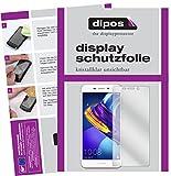 dipos I 2X Schutzfolie klar passend für Huawei Honor 6C Pro Folie Bildschirmschutzfolie