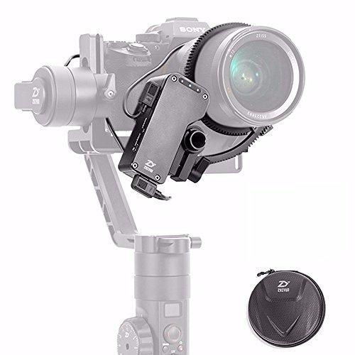 Zhiyun Crane 2 Servo Follow Focus Soporte mecánico Enfoque en tiempo real para todas las cámaras Canon Panasonic Nikon Sony