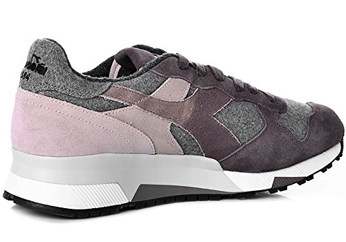 Diadora Heritage, Uomo, Trident 90 Flannel, Suede/Tessuto, Sneakers, Marrone Marrone