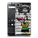 Head Case Designs Offizielle Brandalised Affe Banksy Kunst Farbige Straßenkunst Ruckseite Hülle für Blackberry KEYone/Mercury