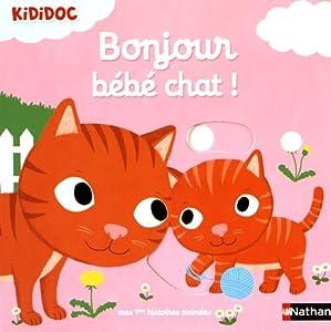 """Afficher """"Bonjour bébé chat !"""""""