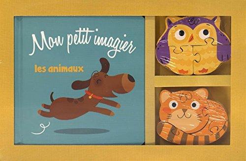 Mon petit imagier Les animaux : Avec deux puzzles