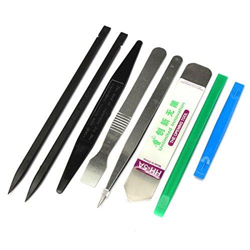 KUNSE 8 In 1 Reparatur Öffnung Hebel Werkzeuge Set Kit Öffner Für Handy