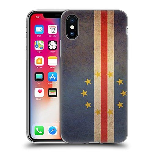 Head Case Designs République Démocratique Du Congo Congolais Drapeaux D'époque 5 Étui Coque en Gel molle pour Apple iPhone 6 / 6s Cap Verde Capverdien