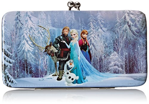 Disney Frozen Cast Lock Hinge Wallet (Kiss Lock Handbag)