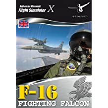 F-16 Fighting Falcon Add-On for FS 2004/FSX (PC CD) [import anglais]