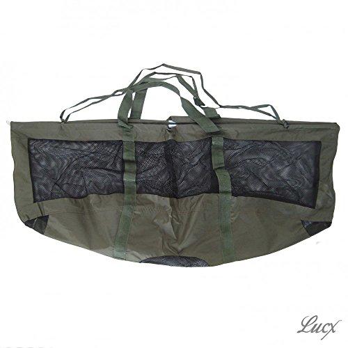 Lucx® Karpfen Wiegeschlinge/Carp Weightsling Sling/Wiegesack/Zusammenfaltbar, 17 x 75 cm