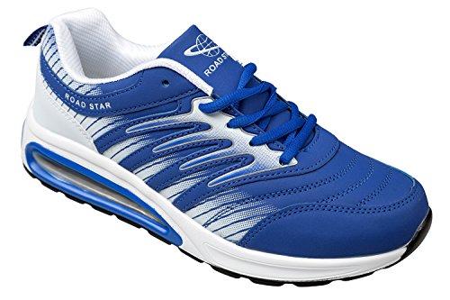 GIBRA baskets, très léger et confortable-bleu/blanc-taille 36 Bleu - Blau/Weiß