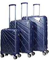 Aerolite PCF/ABS Hardshell Cabin Hand Luggage, Medium & Large 20/25/29 Luggage Suitcase Travel Trolley Sets