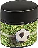 Brunnen 102989138 Dosenspitzer Fußball, 5 x 2,5 x 5 cm, oval, mit Staubverschluss, Doppelspitzer)