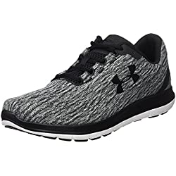 Under Armour UA Remix, Zapatillas de Running para Hombre, Negro (Black), 43 EU