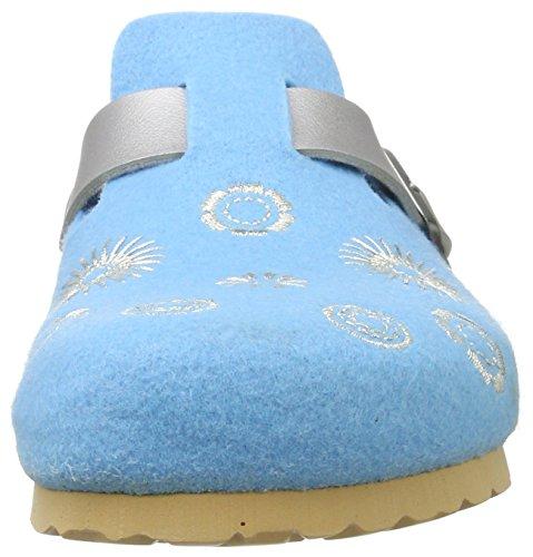 Superfit Fussbettpantoffel, Chaussures Bébé marche bébé garçon Türkis (Türkis)