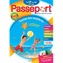 Passeport Du CP au CE1 - Cahier de vacances