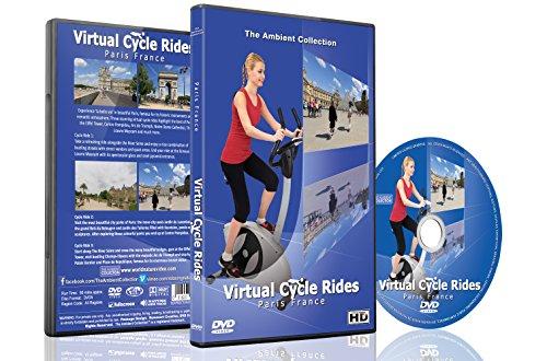 Virtuelle Fahrradstrecken - Paris, Frankreich - Für Indoor Radfahren, Laufband und Laufworkouts