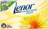 Lenor Tumble Dryer Summer Breeze Sheets - 4 x 34