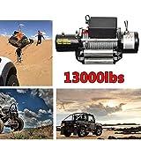 Télécommande sans fil Treuil électrique 12V 4x 45896,7kilogram Treuil de Kits de voiture Treuil de puissant pour ATV Remorque Camion véhicule tout-terrain