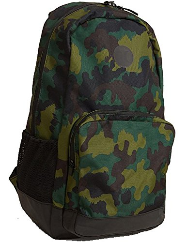 Hurley Renegade Printed Backpack, Color: Multi/Black, Size: QTY Renegade Rucksack