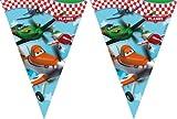 Procos - Banderola para fiestas, diseño de Aviones de Disney Pixar