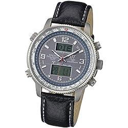 Eco Tech Time egt-11209–31L–Uhr für Männer, Titan-Armband