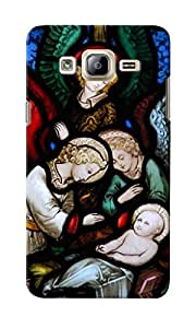 KnapCase Religious Stained Glass Designer 3D Printed Case Cover For Samsung Galaxy On7