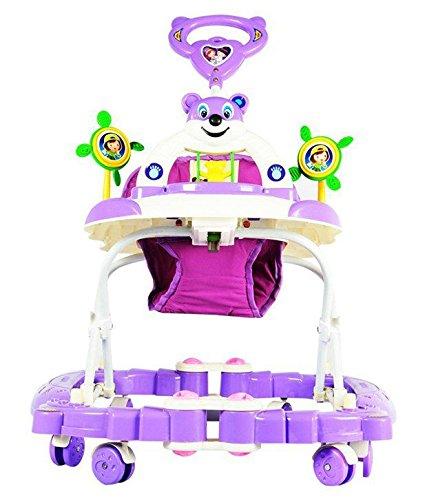 Goyal's Baby Musical Foldable Rocker & Walker - Purple