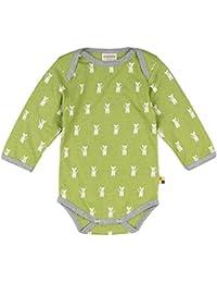 loud + proud Unisex Baby Body Woll-Anteil, Druck