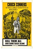 Kill Them All and Come Back Alone Plakat Movie Poster (27 x 40 Inches - 69cm x 102cm) (1970)