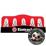 Eintracht Frankfurt Schoko Mini Osterhase Schokoladenhase SGE (5 STK.) Plus Aufkleber Wir lieben Fußball