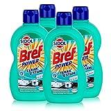 Sidol Ceran & Stahl Reiniger 500 ml - Entfernt auch Eingebranntes (4er Pack)
