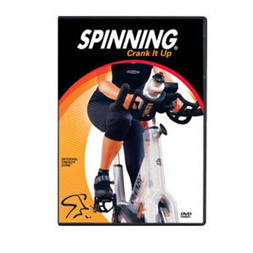 Spinning Übung Crank It up Interval Energy Zone DVD, 7178 Spinning-dvd-set