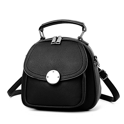 Mefly Mini Portatile Borsa A Tracolla Xiekua Pacchetto Rosa black