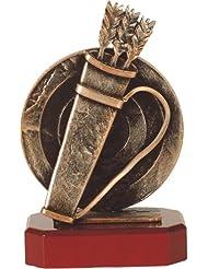 Metall-Resin Figur - (BEL187) Bogenschießen