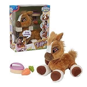 Giochi Preziosi 70606301 Emotion Pets Toffee - Caballo Funcional (36 cm), Color marrón
