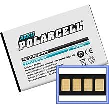PolarCell - Batteria agli ioni di litio 1.600 mAh, per LG BL-44JN E400/E510/E610/E730/P690/P970