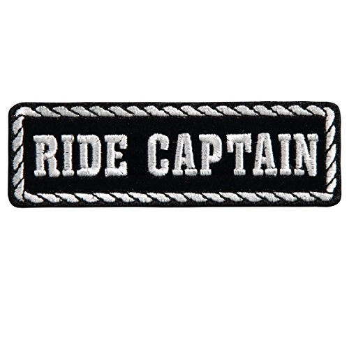 Patch écusson Statut Ride captain- Moto club custom