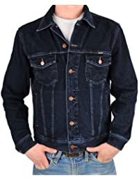 Wrangler veste en jean bleu/noir
