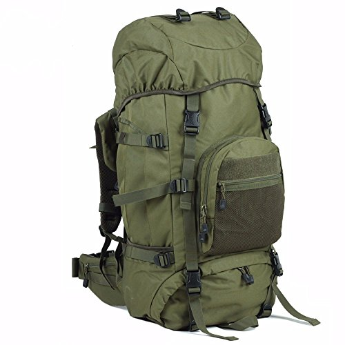 Rucksack Bergsteigen Taschen Große Kapazität outdoor Sport Green 70L