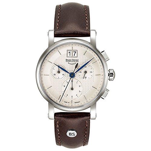 Bruno Söhnle Damen-Armbanduhr EpisodeIII Chronograph Quarz Leder 17-13115-240